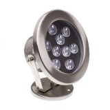Spot LED Fixation au Sol RGB 12V 9W