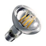 Ampoule LED E27 Variable Filament R80 8W