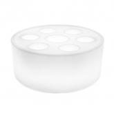 Plateau aquatique RGBW LED rechargeable