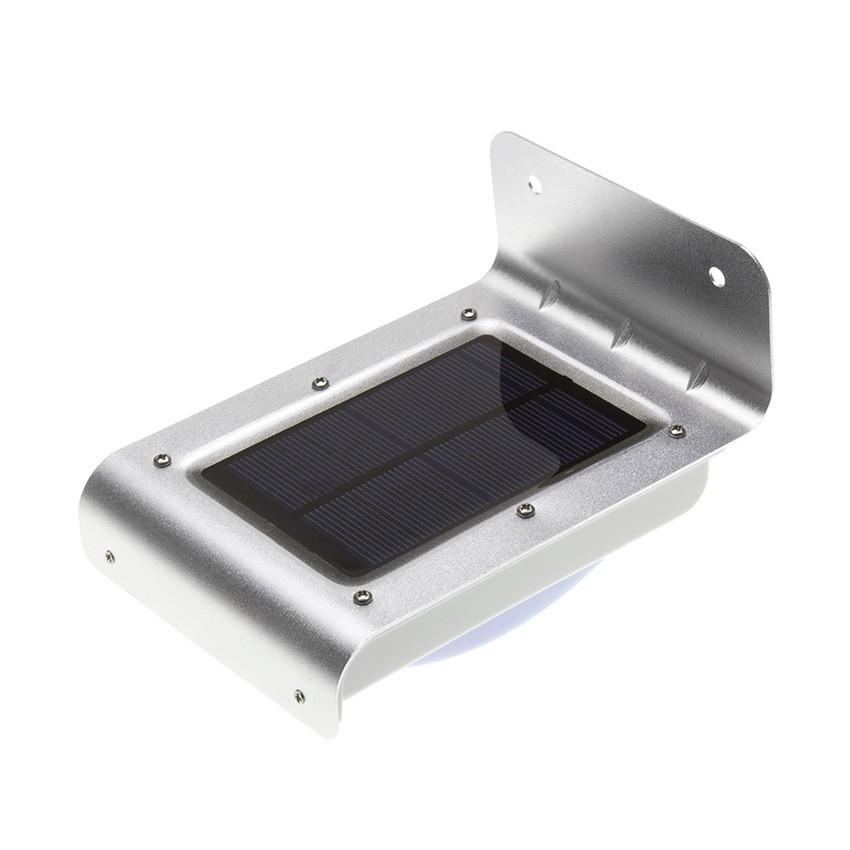 applique led solaire avec capteur pir silver river ledkia france. Black Bedroom Furniture Sets. Home Design Ideas