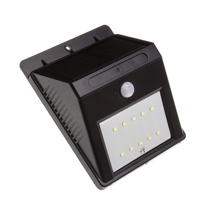 Applique led solaire avec capteur pir martell ledkia france - Applique exterieur solaire led ...