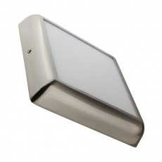 Plafonnier LED Carré Silver Design 18W