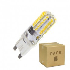 Pack 5 Bombillas LED G9 3W