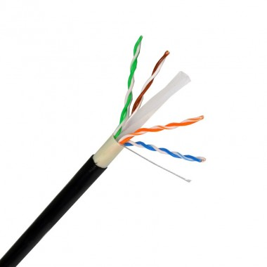 305m c ble utp cat6 cuivre aluminium ext rieur ledkia france for Cable france telecom exterieur