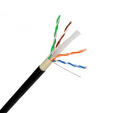 305m c ble utp cat6 cuivre aluminium ext rieur ledkia france for Cable france telecom exterieur