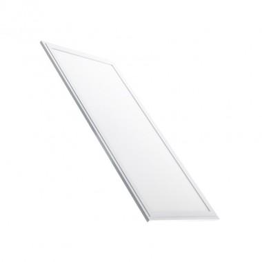 Panneau LED Slim Éclairage d'Urgence 60x30cm 40W Cadre Blanc