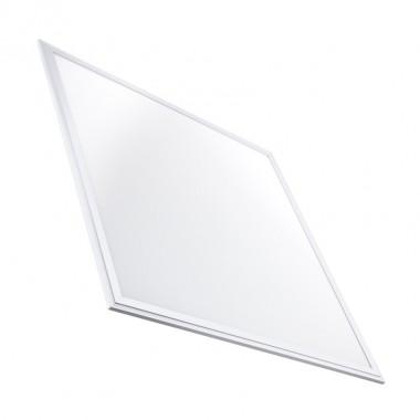 Panneau LED Slim Éclairage d'Urgence 60x60cm 40W 3800lm Cadre Blanc