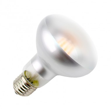 Ampoule LED E27 Dimmable Filament R80 Frost 6W