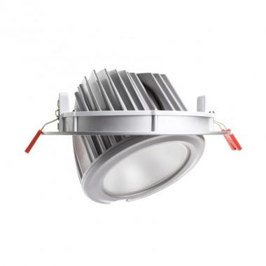Projecteur LED Samsung 120lm/W Orientable Rond 60W  Silver