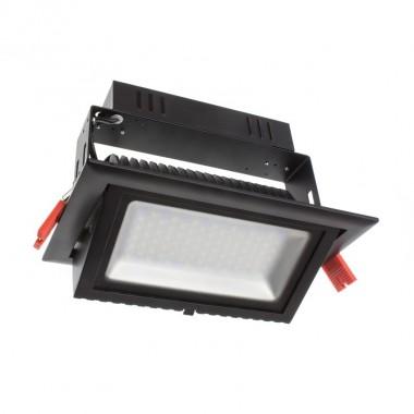 Projecteur LED Samsung 120lm/W Orientable Rectangulaire 38W Noir