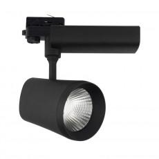 Spot LED D'Angelo pour Rail Triphasé 40W Noir