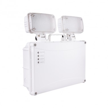 Balise de Secours LED TwinSpot Rectangulaire 5W IP65