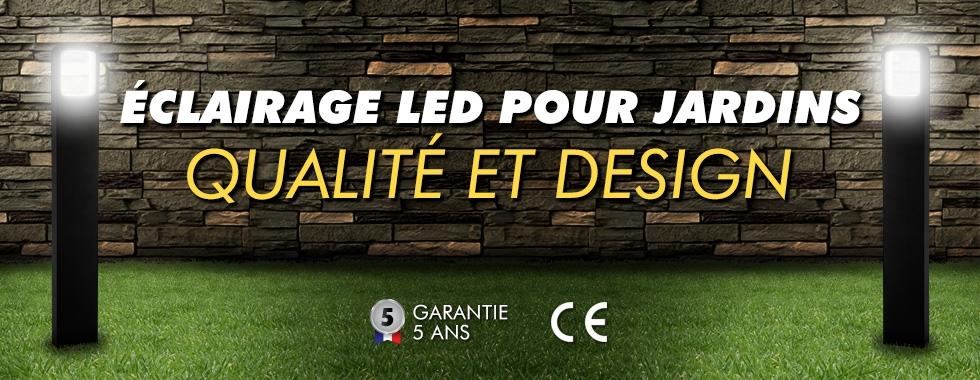 Éclairage LED pour piscines et jardins