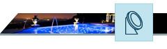 Projecteurs LED Fontaines/Jardins