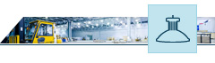 Luminaires industriels LED
