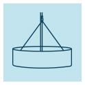 Lampes et suspensions en ardoise