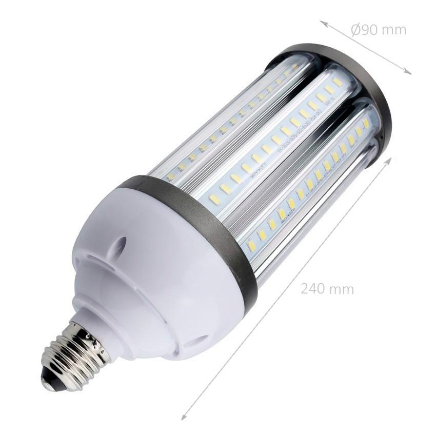 Lampada led illuminazione stradale corn e27 40w ledkia for Lampada led