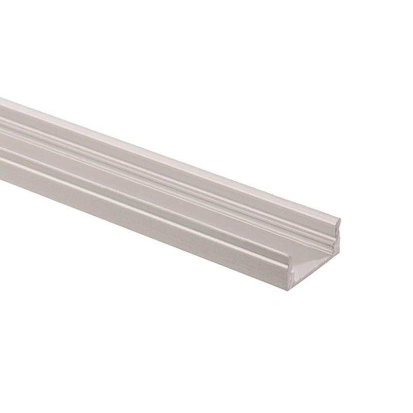Profilo in alluminio 1m per strisce led 037 a50 ledkia for Profilo alluminio led leroy merlin