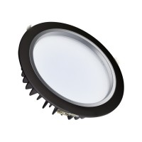 Downlight LED Samsung 25W 120lm/W Nero