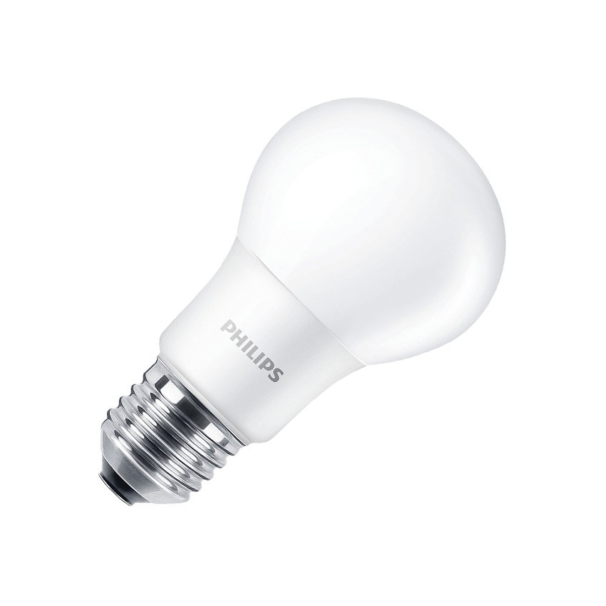 Lampada led e27 a60 philips corepro cla 8w ledkia italia for Lampade e27 a led