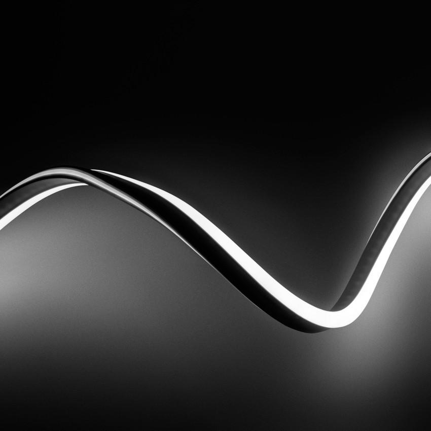 Bobina neon led flessibile 120led m bianco freddo 50 metri for Tubo flessibile a led