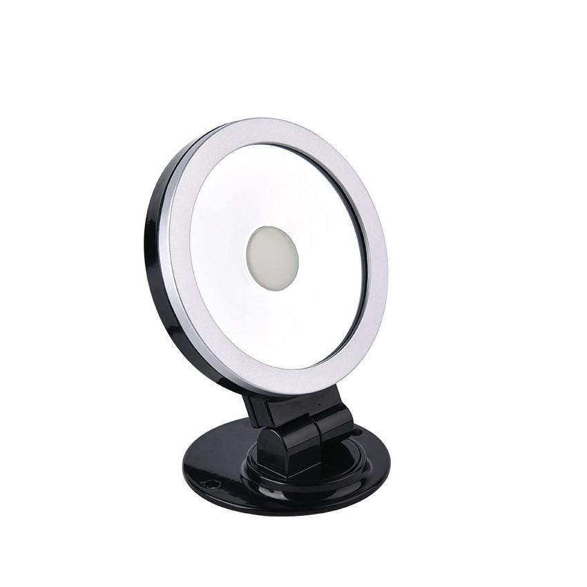 Proiettore led orientabile 360 rgb 10w nero ledkia italia for Proiettore led