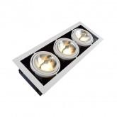 Faretto LED Cree Orientabile COB AR111 45W Regolabile
