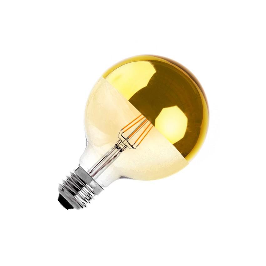 Lampada led e27 regolabile filamento reflect supreme oro for Lampade a led e 27