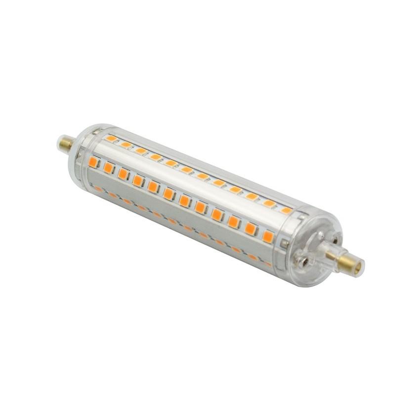 Lampada led r7s regolabile slim 118mm 10w ledkia italia for Lampada led r7s 118mm dimmerabile