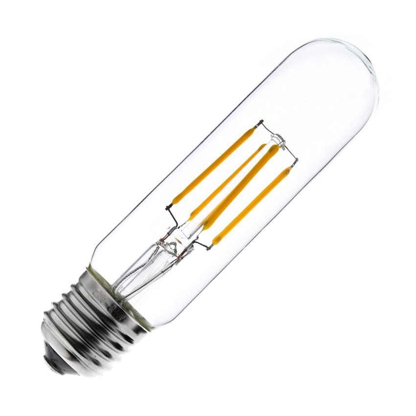 Lampada led e27 regolabile a filamento t30 s 3 5w ledkia for Lampade lunghe a led