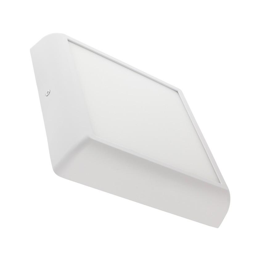 Plafoniera LED Quadrata Design 18W Bianca - Ledkia Italia