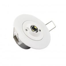 Luz de Emergencia Foco Downlight 3W 30º