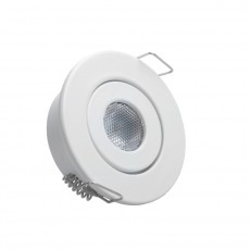 Foco Downlight LED COB Direccionable 1W Blanco