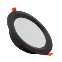 Oprawa Downlight LED Samsung 120lm/W Aero 24W Czarna