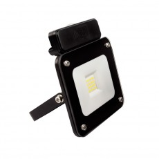 White 30W UltraSlim LED Floodlight with a PIR Sensor