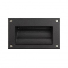 Mystic LED Step Light with a Black Finish