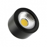 Black Style 7W COB LED Surface Panel