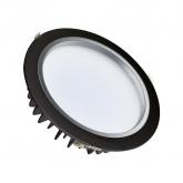 Black 25W Samsung LED Downlight