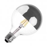 G125 E27 6W LED Supreme Reflect Filament Bulb (Dimmable)