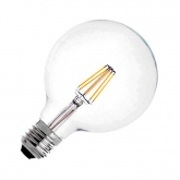 G95 E27 6W LED Planet Filament Bulb (Dimmable)