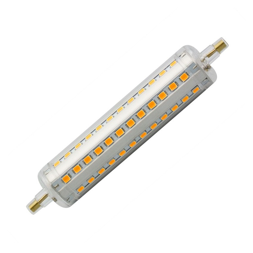 Slim 118mm r7s 10w led bulb dimmable ledkia united kingdom Bulbs led