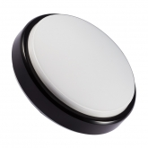Black Round Hublot 12W LED Surface Panel