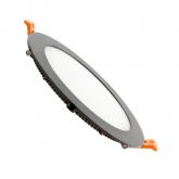 Black Round 15W UltraSlim LED Panel