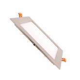 Silver Square 15W UltraSlim LED Panel
