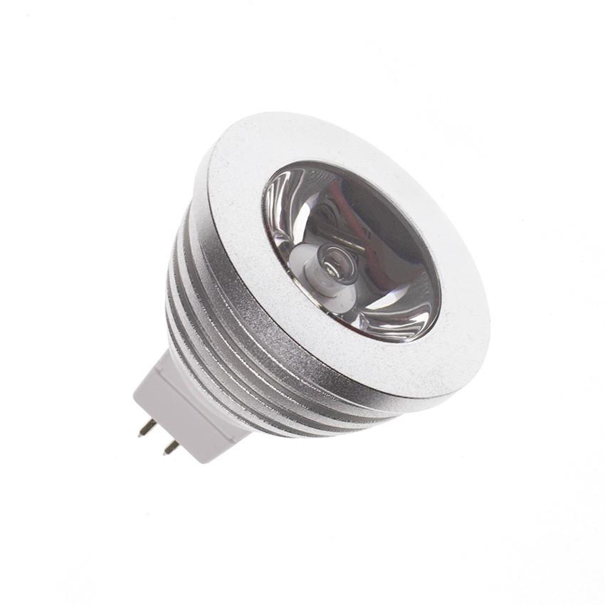 Glass GU5.3 MR16 45º 5W COB LED Lamp (220V) - Ledkia United Kingdom