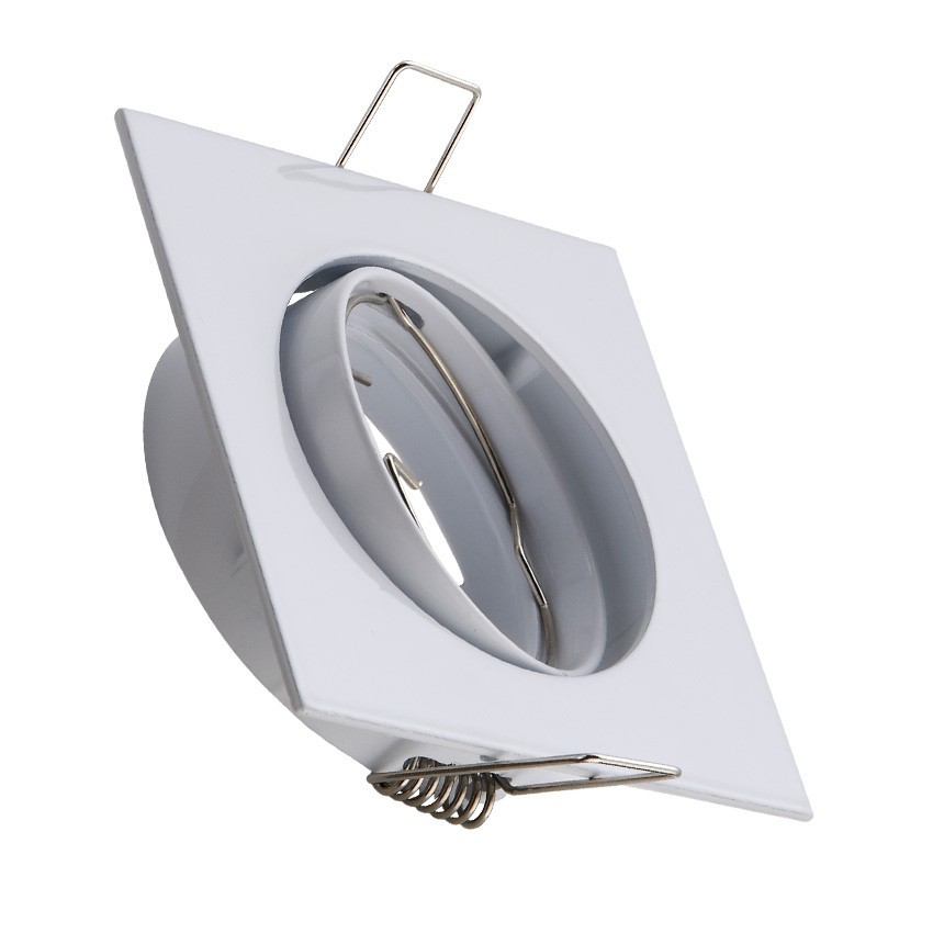 Square Tilting Halo Downlight for a GU10/GU5.3 LED Bulb ...