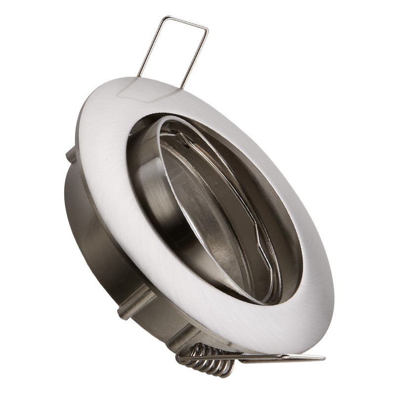 round tilting halo downlight for a gu10 gu5 3 led bulb. Black Bedroom Furniture Sets. Home Design Ideas