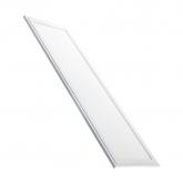 40W 120x30cm Slim Emergency LED Panel with a White Frame