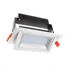 20W Adjustable Rectangular Samsung LED Spotlight Projector
