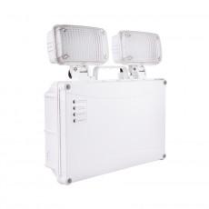 Rectangular 5.4W TwinSpot Emergency LED Light